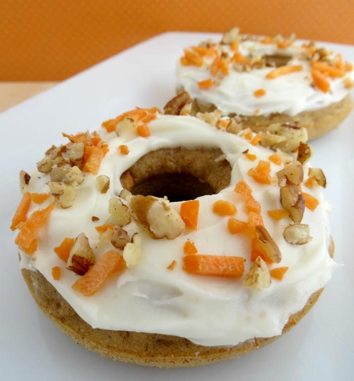 Baked Carrot Cake Donut Recipe