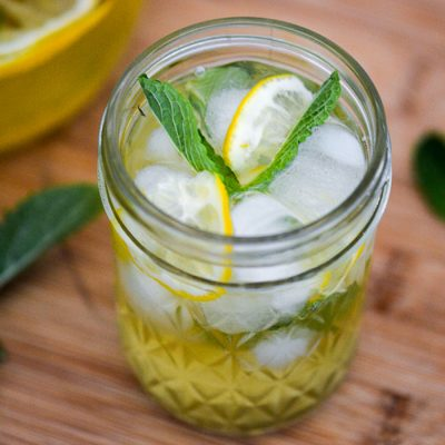 Meyer Lemon Agave Lemonade Recipe