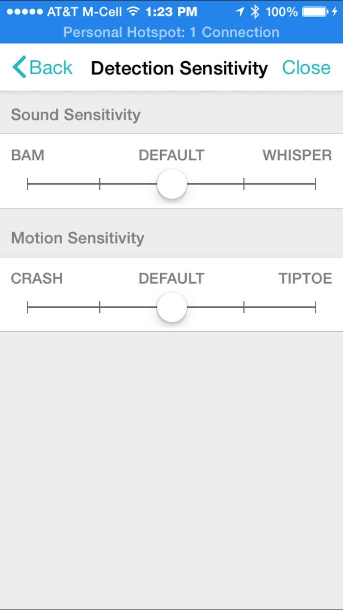 simplicam-detection-settings