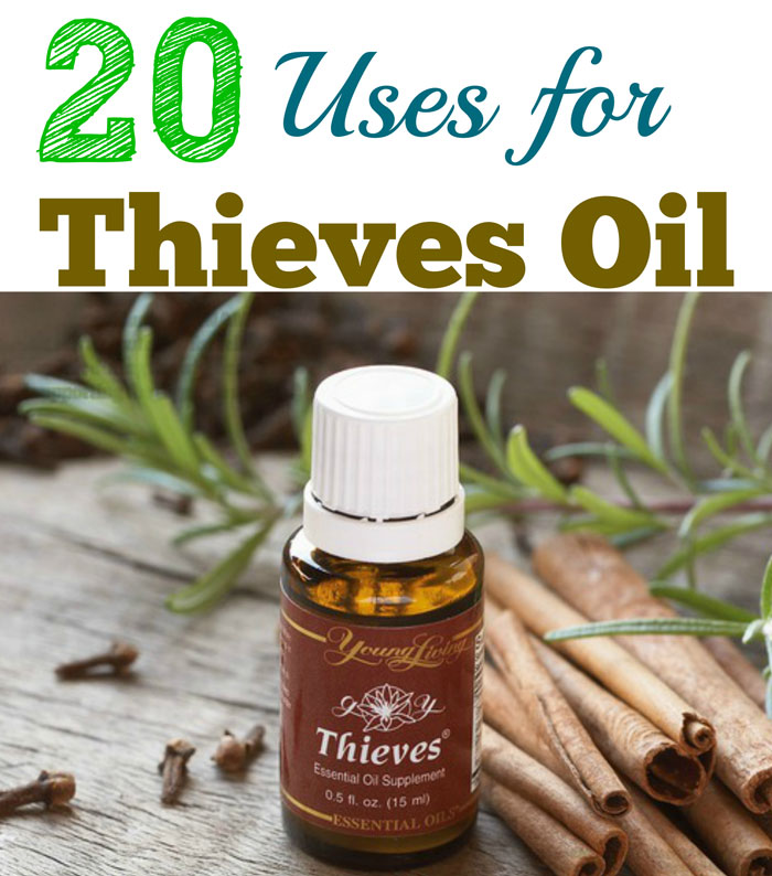 20 Uses for Thieves Oil
