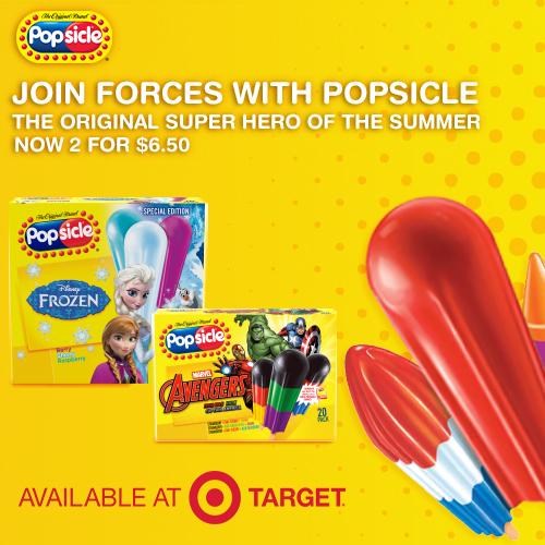 Marvel Avenger Popsicle