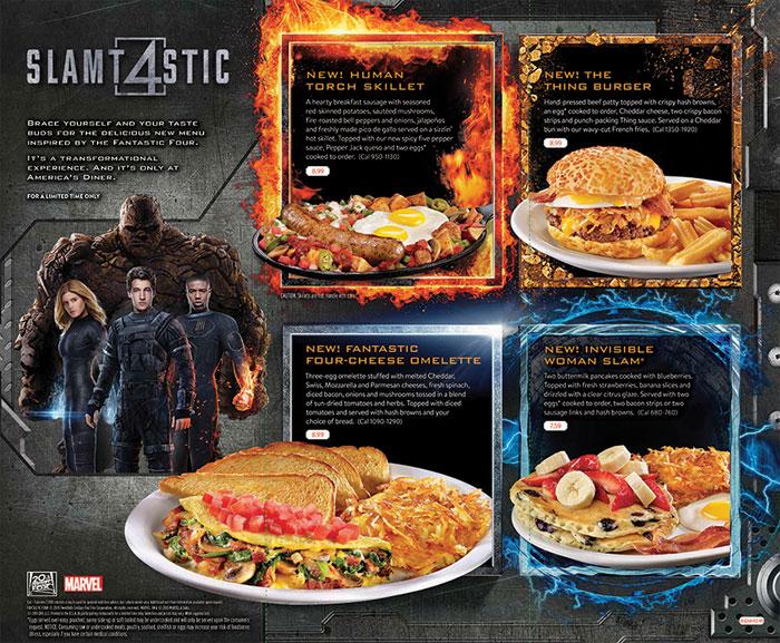Denny's Fantastic Four