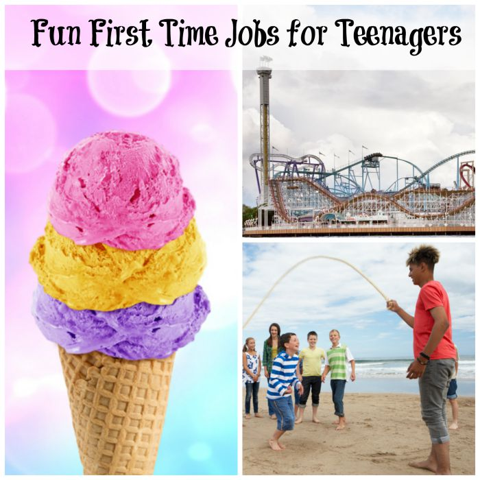 First Time Jobs for Teenagers
