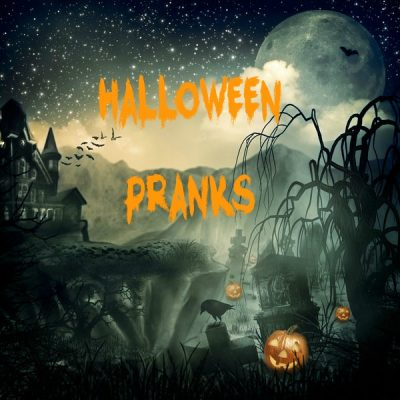 Halloween Pranks with Some Technology Help