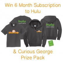 Curious George Now on Hulu and Hulu Prize Pack Giveaway : (Ends 5/3)