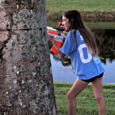"""Summer Fun with NERF and Toys """"R"""" Us"""