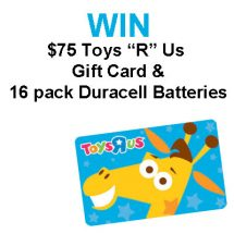 "Summer Fun with NERF and $75 Toys ""R"" Us Gift Card Giveaway : (Ends 7/4)"