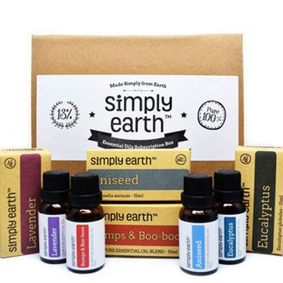 Win a Simply Earth's Essential Oil Recipe Box and Diffuser : (Ends 10/31)