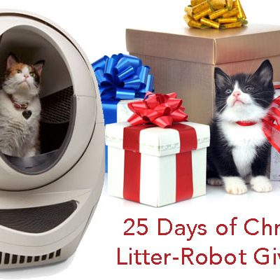 25 Days of Christmas with Litter-Robot Giveaway
