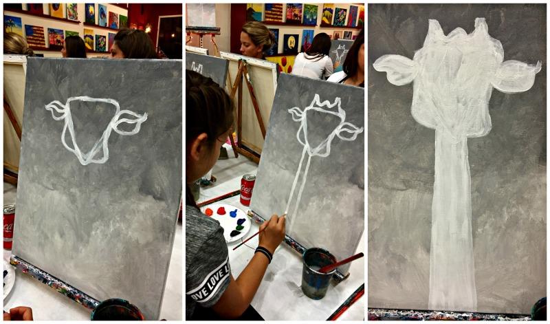 Painting Class Vino Van Gogh