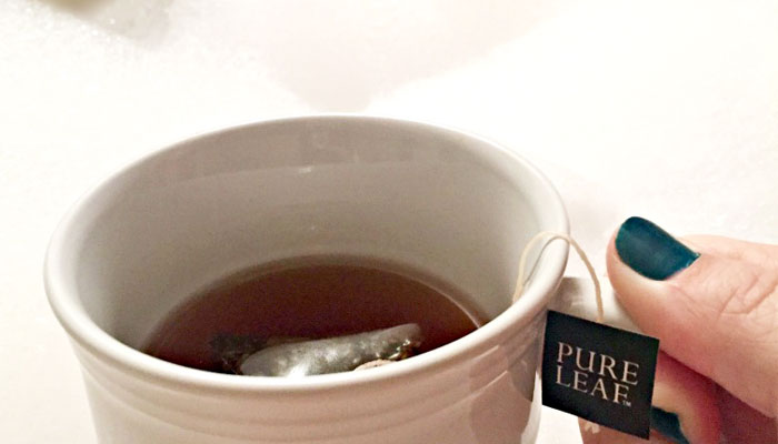 Enjoy the Cooler Temperatures with a Hot Cup of Pure Leaf Tea