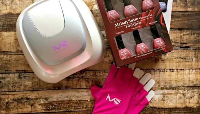 Professional Gel Manicure at Home with MelodySusie & Giveaway : (Ends 1/26)