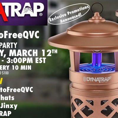 Twitter Party 3/12/17 @ 2pm EST #MosquitoFreeQVC