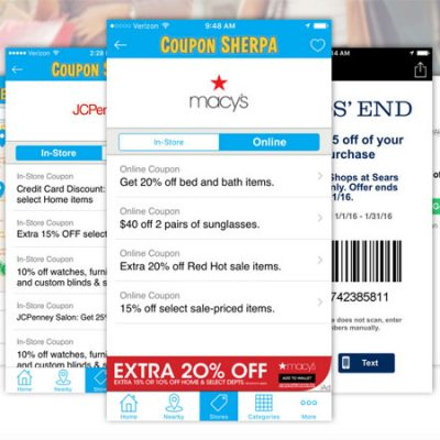 Today's Top Coupons & Promo Codes at Coupon Sherpa