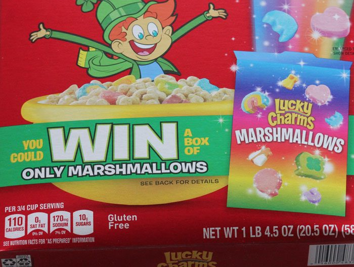 Lucky Charm Marshmallow Only