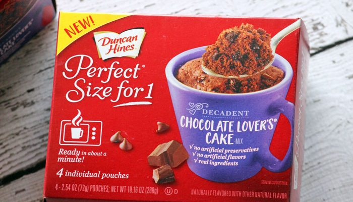 One Minute to Delicious with Perfect Size For 1
