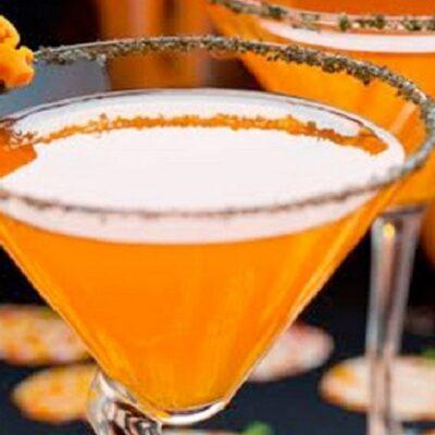 Halloween Drink Recipe : The Screamsicle