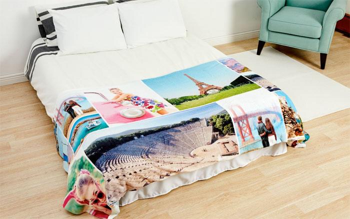 Custom Photo Blanket