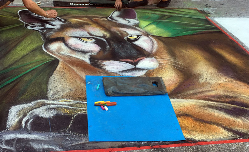 Street Painting Festival Lakeworth