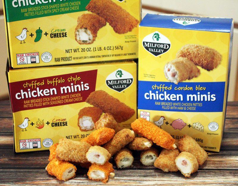 Stuffed Chicken Minis