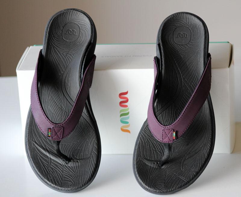 Wiivv Sandals review