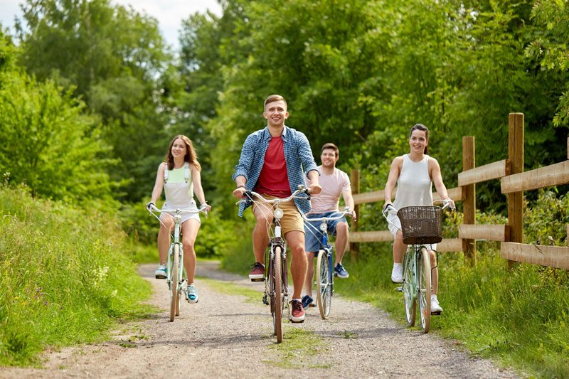 Cycling in the Summer