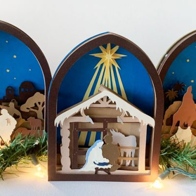 Creating Christmas Memories with Cricut
