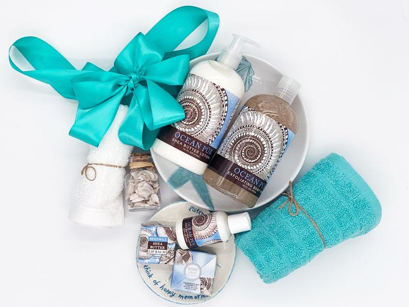 Beach Gift Basket