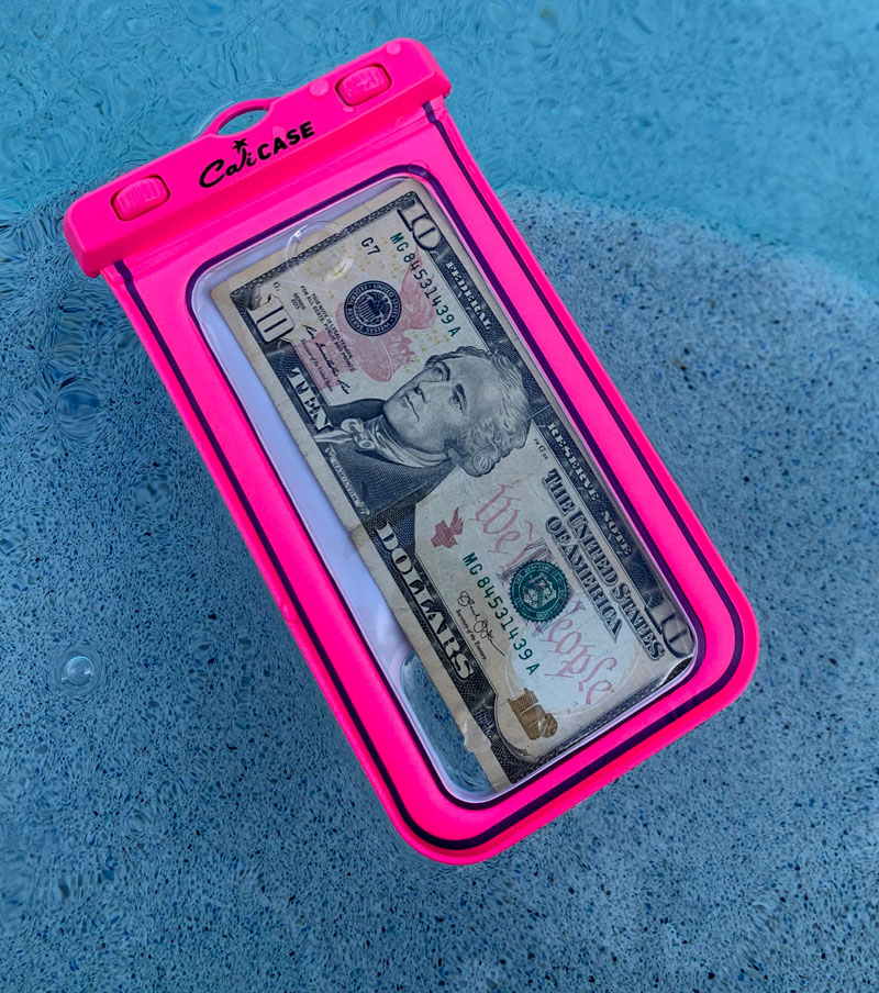 Cali Case Waterproof Case and Floats