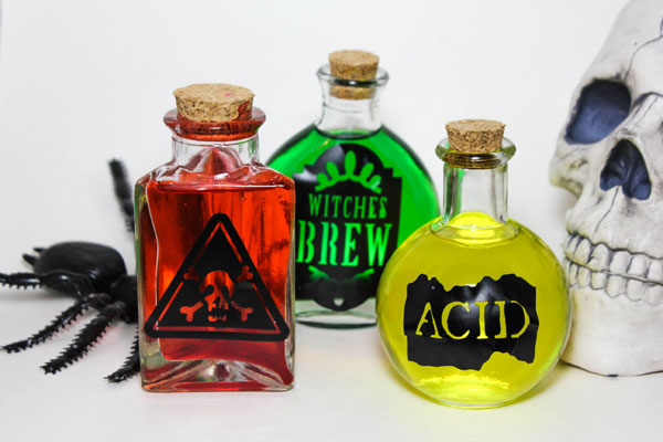 Halloween Potion Bottle Craft