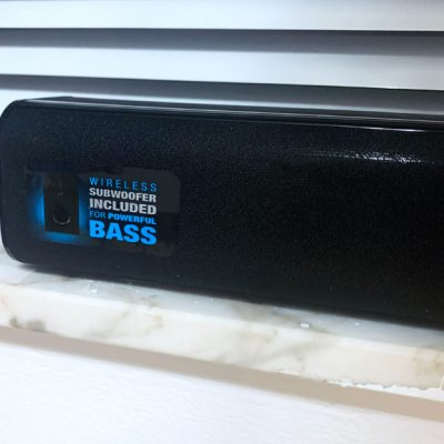 Soundbar and Wireless Subwoofer at a Great Price