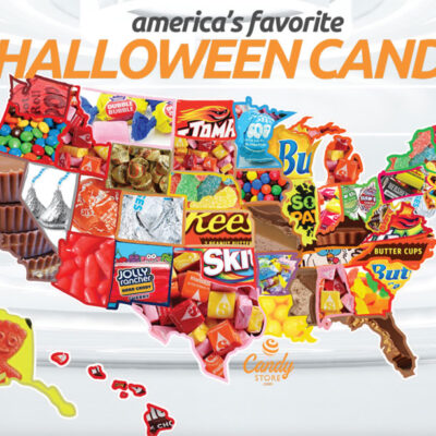 America's Favorite Halloween Candy 2021